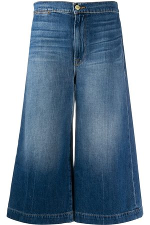 Frame Mujer Jeans - High-rise culotte jeans