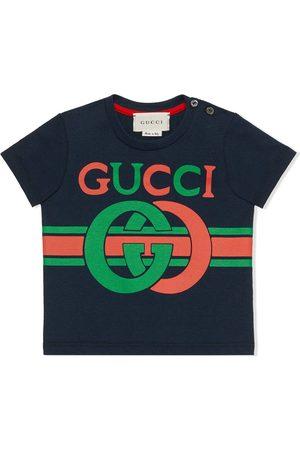 Gucci Camiseta con estampado GG