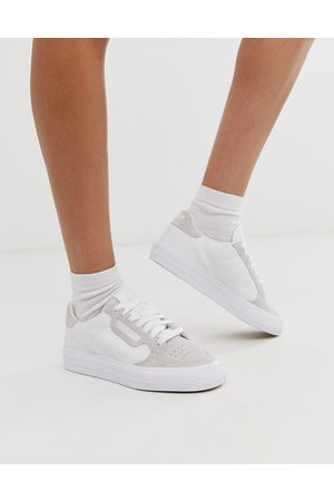 adidas Continental 80 Vulc trainers in white