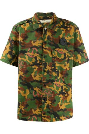 OFF-WHITE Shortsleeved camouflage shirt