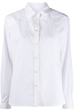 Golden Goose Mujer Camisas - Texas long-sleeved buttoned shirt