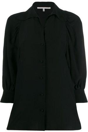 Stella McCartney Camisa con mangas vaporosas
