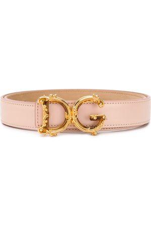 Dolce & Gabbana Cinturón con hebilla D&G Baroque