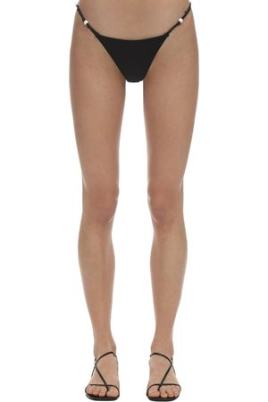 Solid Braguitas De Bikini De Lycra