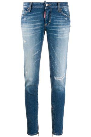 Dsquared2 Skinny jeans con efecto envejecido