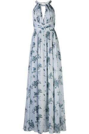 Marchesa Notte Bridesmaids Chiffon open back dress