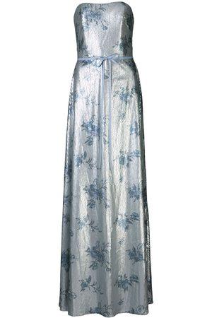 Marchesa Notte Bridesmaids Sequin embellished strapless dress