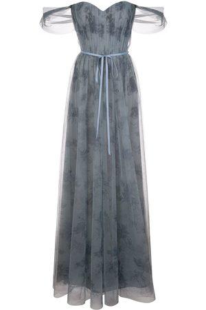 Marchesa Notte Mujer Vestidos de noche - Vestido tipo body drapeado
