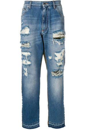 Dolce & Gabbana Jeans con detalle de estampado militar