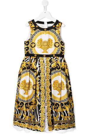 VERSACE Niña Estampados - Vestido con estampado Barocco