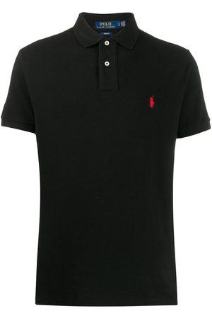 Ralph Lauren Playera tipo polo con logo bordado
