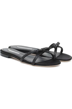 MARCO DE VINCENZO Mujer Sandalias - Crystal-embellished sandals