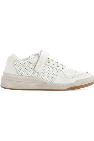 "Saint Laurent Sneakers ""travis"" De Piel Perforada"