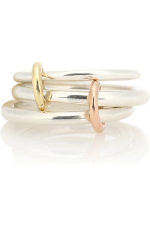 SPINELLI KILCOLLIN Mujer Anillos - Daphne 18kt gold and sterling linked rings