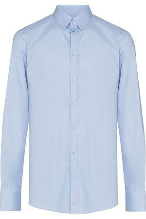 Dolce & Gabbana Camisa formal con pliegues