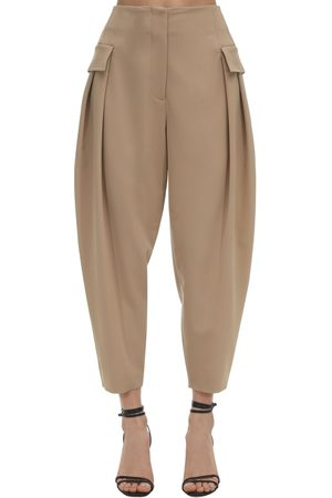 Stella McCartney Tailored Stretch Wool Cargo Pants