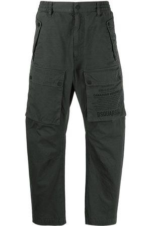 Dsquared2 Pantalones cargo con logo estampado