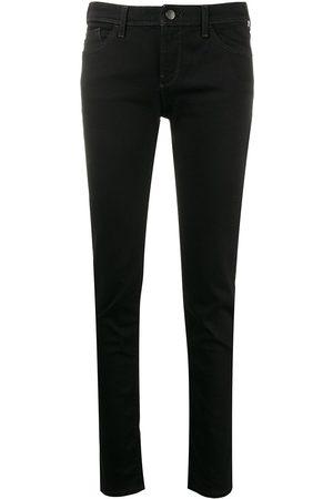 Emporio Armani Skinny jeans de tiro bajo
