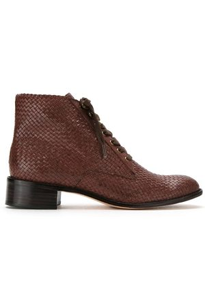 Sarah Chofakian Mujer Botines - Leather ankle length boots