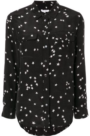Equipment Camisa con estampado de estrellas