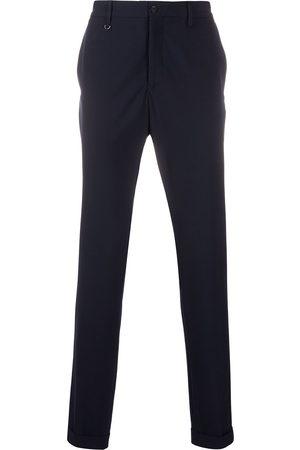 Emporio Armani Pantalones skinny con tiro alto