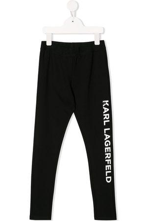 Karl Lagerfeld Pants con logo estampado