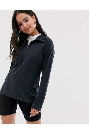 Columbia Mujer Glacial half zip fleece in black