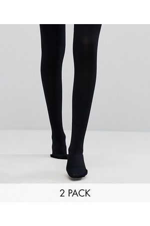 ASOS Mujer Medias - 2 pack 120 denier black tights