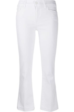 7 for all Mankind Jeans bootcut estilo capri Illusion