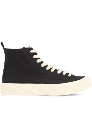 AGE - ACROSS TO GENUINE ERA Sneakers Altas De Lona Revestida De Carbón