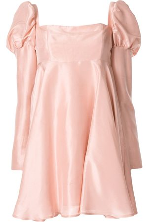 Macgraw Vestido corto de seda Romantic