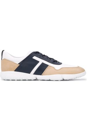 Tod's Contrast-panel low-top trainers