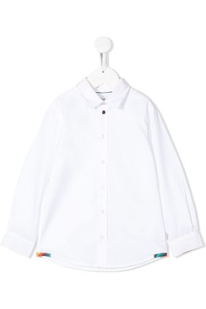 Paul Smith Camisa lisa con mangas largas