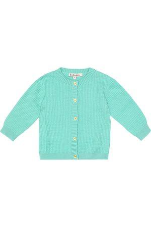 Caramel Baby Camden cotton cardigan