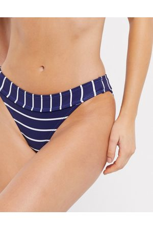 Accessorize Bikini bottom in navy stripe