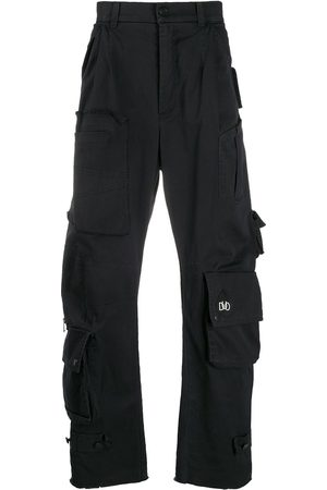 DUOltd Hombre Cargo - Pantalones rectos estilo cargo