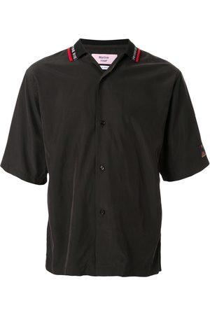 MARTINE ROSE Camisa manga corta con logo