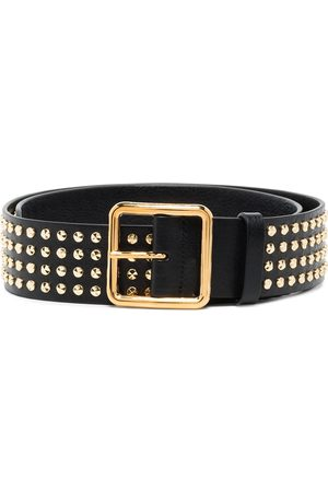 Alexander McQueen Studded buckled belt