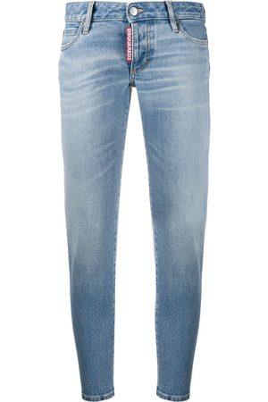 Dsquared2 Jeans slim estilo capri