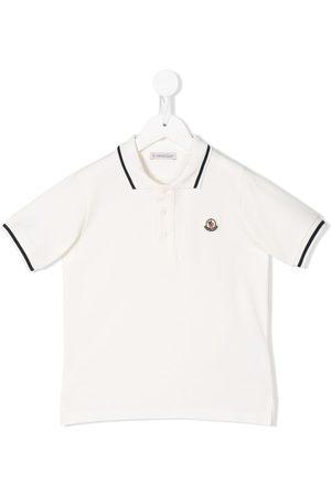 Moncler Niño Polos - Playera tipo polo con logo bordado