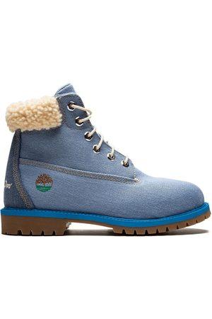 enero pasta Empresario  Botas Y Botines Timberland azules para hombre | FASHIOLA.mx