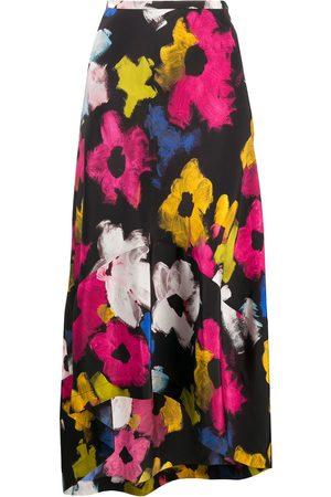Colville Mujer Estampadas - Floral flounce skirt