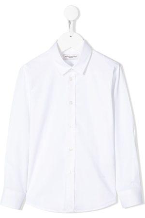 Paolo Pecora Camisas - Plain long-sleeved shirt