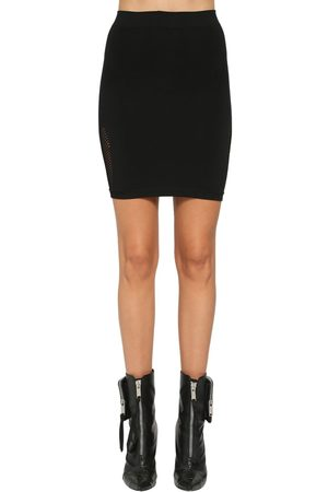 UNRAVEL Active Mesh Mini Skirt