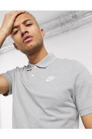 Nike Club Essentials polo shirt in grey