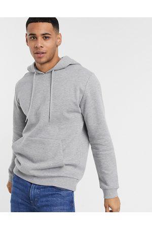ASOS Hoodie in grey marl
