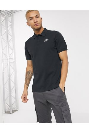 Nike Club Essentials polo shirt in black