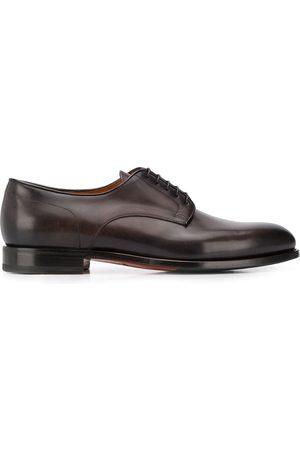 santoni Zapatos derby con tacón bajo y cordones
