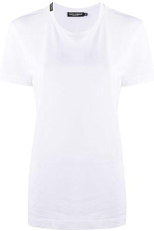 Dolce & Gabbana Mujer Playeras - Camiseta de manga corta con logo