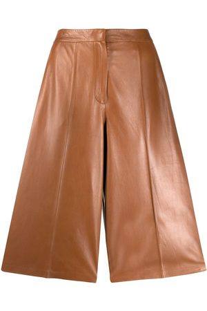 Desa 1972 High-rise leather culottes